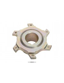 Porte-disque magnésium 206x16mm Ø40